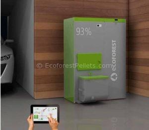 Caldeiras Ecoforest VAP 30 e 38 Instalada